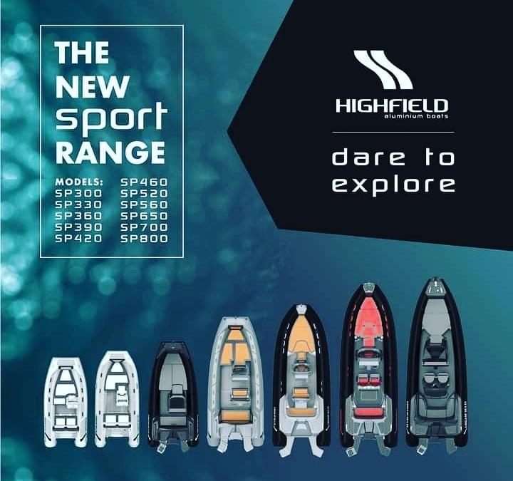 HIGHFIELD Boats Revela las primeras imágenes de la nueva gama Sport 2021