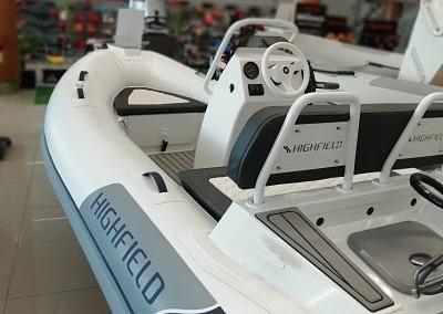 Highfield CL-360-DL + HONDA BF30