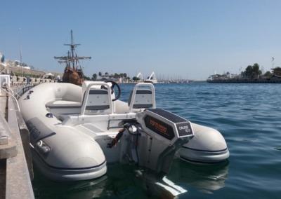 CL360DL + Torqeedo Cruise 10 RL
